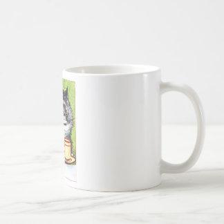 Coffee Cat (Vintage Image) Coffee Mug