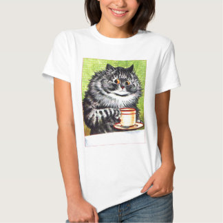 Coffee Cat (Vintage Image) Shirt