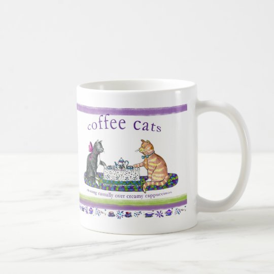 coffee cats coffee mug