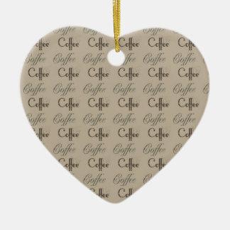 Coffee Ceramic Ornament