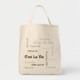 Coffee C'est La Vie Tote Bag