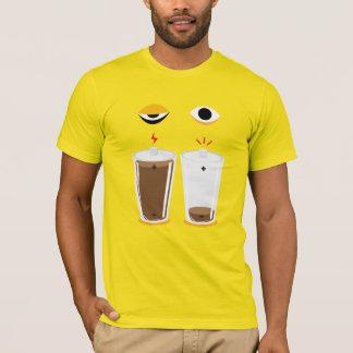 Coffee charging illust T-shirts