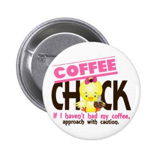 Coffee Chick 1 Pins