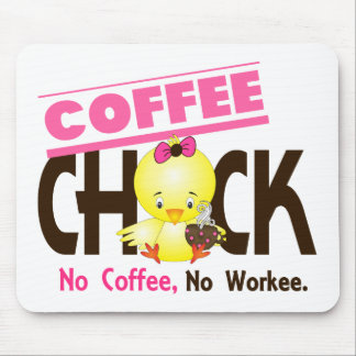 Coffee Chick 2 Mousepads