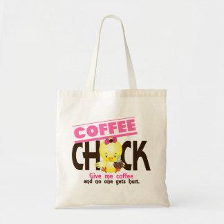 Coffee Chick 4 Canvas Bag