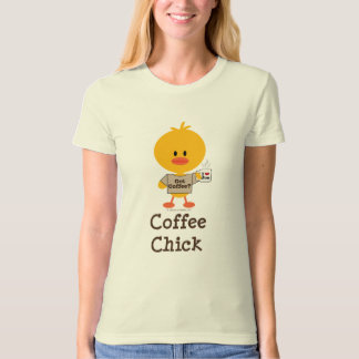 Coffee Chick Organic T-shirt