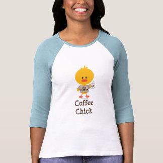 Coffee Chick Raglan Shirt