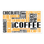coffee (chitChat) Double-Sided Standard Business Cards (Pack Of 100)