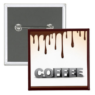 COFFEE CHOCOLATE DRIPS YUMMY DELICIOUS WORDS GRAPH PINS