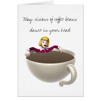 Coffee Christmas Card