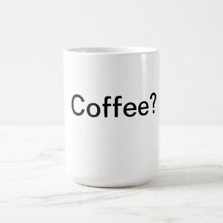 Coffee Classic White Coffee Mug