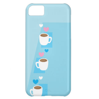 Coffee club group gathering of coffees iPhone 5C case