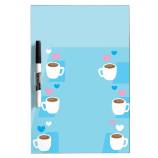 Coffee club group gathering of coffees Dry-Erase board