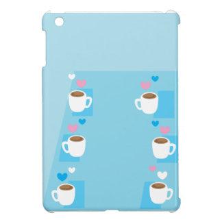 Coffee club group gathering of coffees iPad mini case