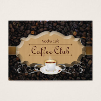 Coffee Club Punch Card Beans 'n Latte Caramel