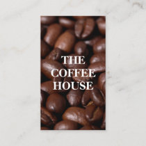 Coffee Coffee Beans Business Card