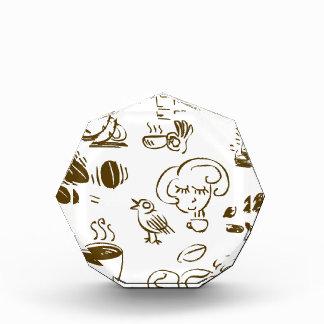 Coffee Coffee Coffee Acrylic Award