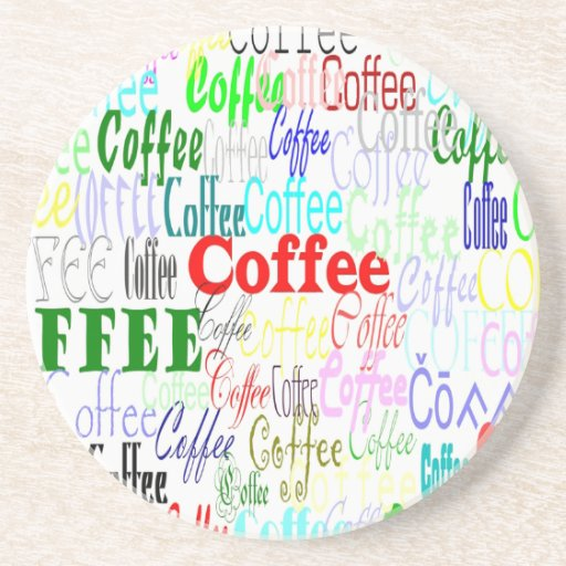 Coffee Coffee Coffee! Beverage Coasters
