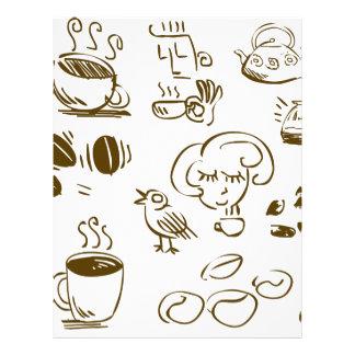 Coffee Coffee Coffee Letterhead