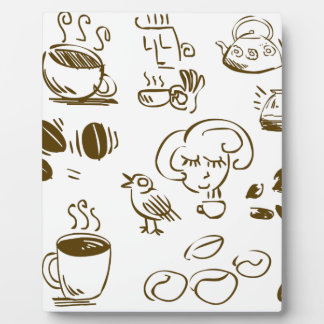 Coffee Coffee Coffee Plaque