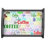 Coffee Coffee Coffee! Service Trays