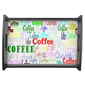 Coffee Coffee Coffee! Serving Tray