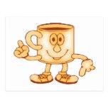 Coffee coffee postcard
