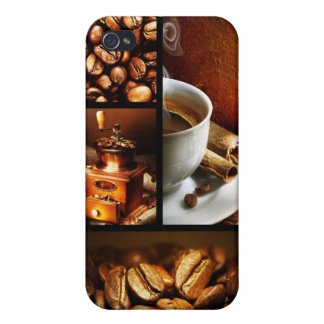 Coffee Collage 2 iPhone 4/4S Cover