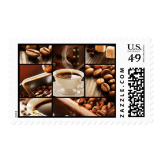 Coffee Collage Postage
