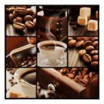 Coffee Collage Poster