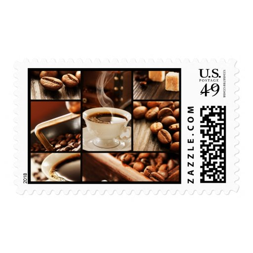 Coffee Collage Stamps