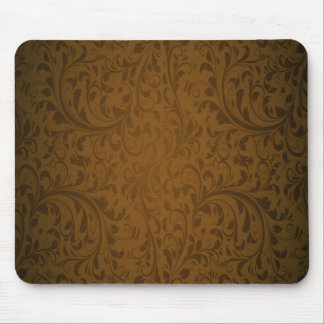 Coffee Color Swirls Mouse Pad