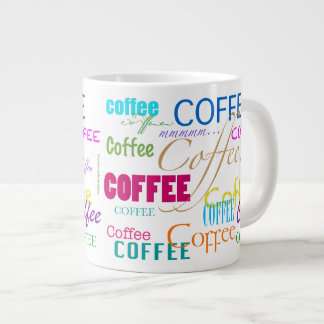 Coffee-Colorful Wrap Giant Coffee Mug