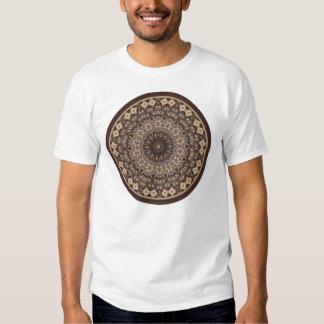 Coffee Colors Abstract Mandala T-Shirt