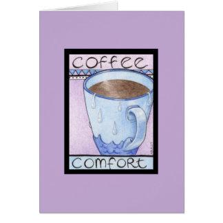 Coffee Comfort Card