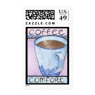 Coffee Comfort Stamp