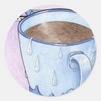 Coffee Comfort Sticker