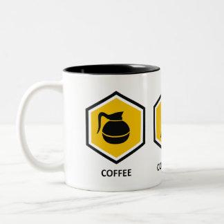 Coffee Computer Genealogy Two-Tone Coffee Mug
