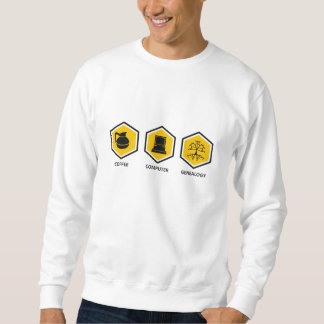 Coffee Computer Genealogy Sweatshirt