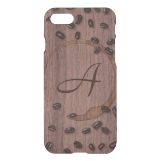 Coffee Connoisseur Monogram iPhone 8/7 Case
