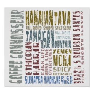 Coffee Connoisseur Poster