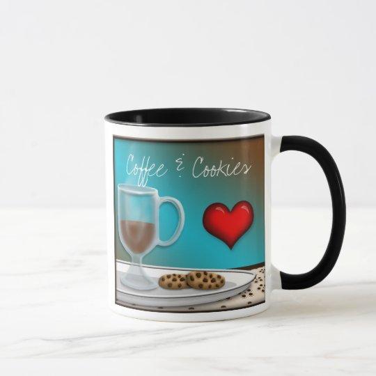 Coffee & Cookies mug
