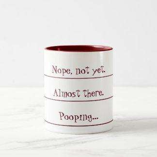 Coffee Countdown to Pooping Mug