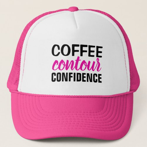 Coffee, Countou, Confidence Hat