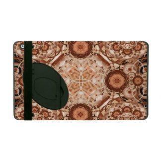 Coffee & Cream Mandala iPad Case
