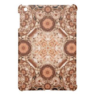 Coffee & Cream Mandala iPad Mini Cover