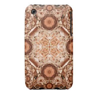 Coffee & Cream Mandala iPhone 3 Cover