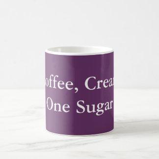 Coffee Cream One Sugar Coffee Mug