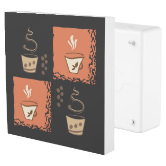 Coffee Creative Art Design Outlet Cover