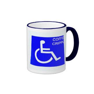 COFFEE CRIPPLE CUP RINGER COFFEE MUG